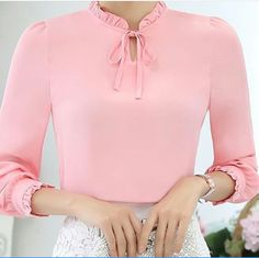♥ Breakfast at Mary's ♥ Blouse And Skirt, Blouse Dress, Pretty Outfits, Cool Outfits, Love Fashion, Womens Fashion, Cute Blouses, Skirt Outfits, Blouse Designs