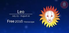 Year 2016 Horoscope predictions for sunsign Leo
