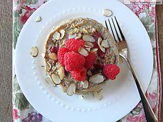 Oatmeal Berry Breakfast Cake [Dairy, Gluten & Sugar Free]