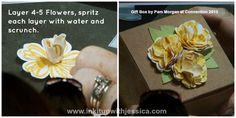 Flower Punch Box Topper