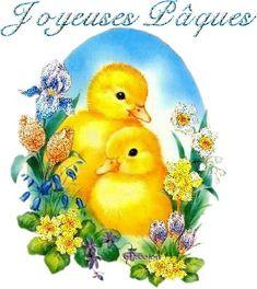 Gifs animés gratuits de Pâques