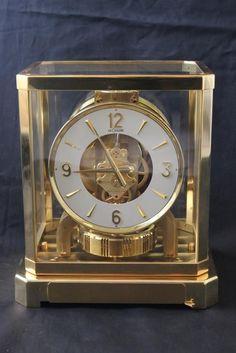 1960 Jaeger LeCoultre ATMOS perpetual motion Mantel CLOCK 528-6 Serial # 176824
