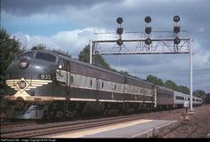 RailPictures.Net Photo: 835 Erie Railroad EMD E8(A) at Waldwick, New Jersey by Bill Hough