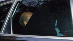 Joseph S. Blatter leaves the FIFA headquarters in a car in Zurich