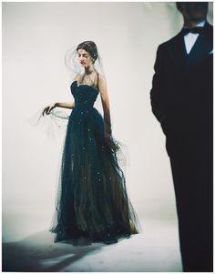 Model Carmen dell'Orefice Photo Erwin Blumenfeld Vogue, 1946