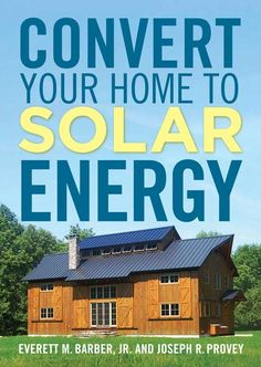 Home Solar Energy. Deciding to go green by converting to solar energy is probably a beneficial one. Solar energy is now being viewed as a solution to the worlds electrical power needs.