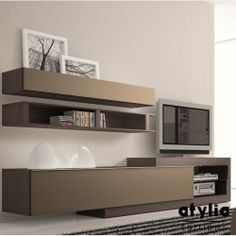 Italian TV Stand EOS by LC Mobili - $499.00 | LC Mobili (Wall ...