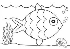 Free Fish Coloring Pages for Kids >> Disney Coloring Pages | Art ...