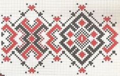 Cross Stitch Borders Our Romanian traditional patterns are only for hand stitching in cross stitch technique .You can hand embroidered with these patterns : Romanian peas - Cross Stitch Borders, Cross Stitch Baby, Counted Cross Stitch Patterns, Cross Stitching, Folk Embroidery, Hand Embroidery Patterns, Cross Stitch Embroidery, Peyote Patterns, Fair Isle Chart