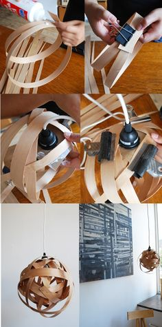 DIY Wood Lamp