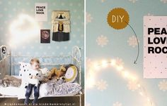 DIY #kidslamp cloud #Kinderlamp maken | Kinderkamerstylist blog