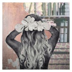 """""""flowers in my hair"""" by bapiep ❤ liked on Polyvore featuring art"""