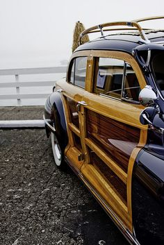 Classic old Woody wagon.