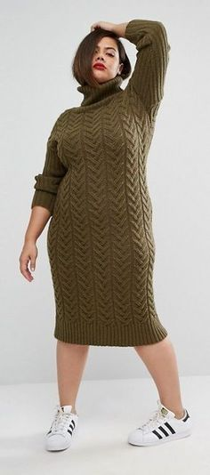 90edaa91afb 115 Delightful Sweater Dresses  Plus Size images