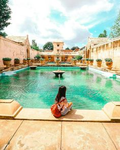 Taman Sari Water Palace, an iconic location in Photo by: IG Borobudur, Semarang, Lombok, Holiday Outfits, Jakarta, Travel Inspiration, Palace, Bali, To Go