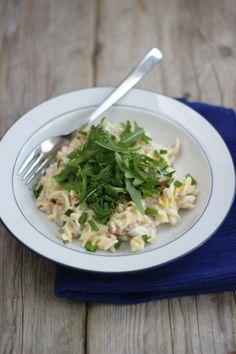 pasta boursin - Lekker en Simpel