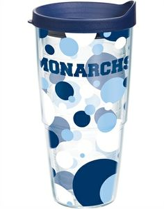 Collegiate | Old Dominion University | Polka Dot Wrap with Lid | Tumblers, Mugs, Cups | Tervis