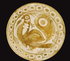 An Abbasid lustre bowl depicting a bird, Iraq, 10th century - Sotheby's