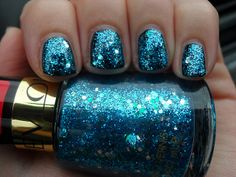 #blue #nails