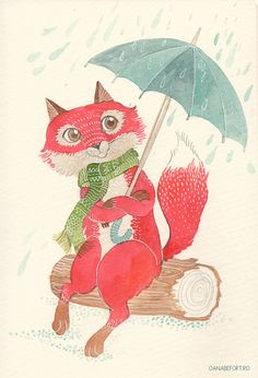 Illustration Friday : soaked by oanabefort, via Flickr