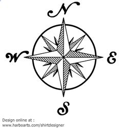 Vintage compass rose 905 Signs Symbols Maps Download Royalty