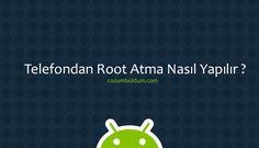 Çoğu Android kullanıcısının telefonunu aldıktan sonra yapmaya çalıştığı önemli işlemlerden biri olan root atma işlemidir. Peki, bu işlem bilgisayar dışında yapılabilir mi? Bizce yapılır. Bugün root yetkisinin bilgisayar dışında nasıl yapılacağına dair bilgi vereceğiz.   #android bilgisayara bağlamadan root #Android Root Nasıl Yapılır #android root nasıl yapılır bilgisayarsız #Android tablet root atma #Android Telefon root yapmak #Andr