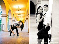 Balboa Park Engagement Photo Shoot / top local wedding photographers