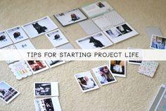 Laurel Lane: Tips For Starting Project Life