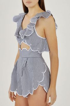 Alice McCall Creatures Moon Playsuit