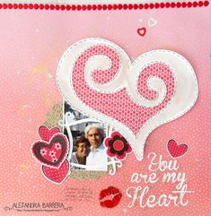 Snapdragon Snippets en Español: Layout You are my Heart
