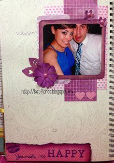 """Kat Flores : Smash """"You make me happy"""" & Sketch #146 LDA"""