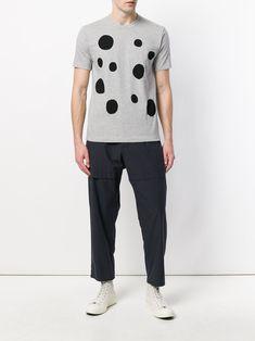 800071ee4be0f Comme Des Garçons Shirt Dot Print short-sleeve T-shirt - Farfetch