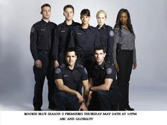 Rookie Blue Season 3 premieres Thursday May 24th 10pm eastern