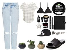 """""""Lush Obsessed"""" by forestfauna ❤ liked on Polyvore featuring Gypsy Warrior, H&M and LORAC"""