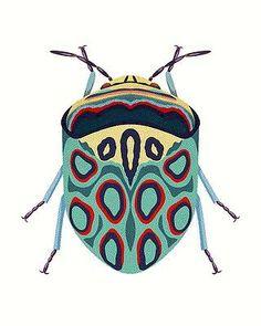 Bugs Drawing, Blue Beetle, Graphic Illustration, Art Inspo, Amazing Art, Art For Kids, Art Drawings, Digital Art, Character Design
