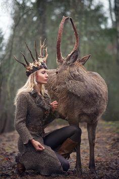 Viking Queen, Elven Queen, Warrior Queen, Warrior Princess, Fantasy Women, Dark Fantasy, Man Beast, Celtic Warriors, Wood Elf