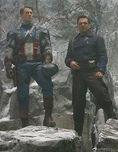 Captain America & Bucky Barnes