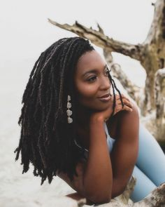 Image shared by Herlucidsky. Find images and videos about beauty, long hair and melanin on We Heart It - the app to get lost in what you love. Girls Natural Hairstyles, Natural Hair Styles, Short Hair Styles, Dreads Styles, Braid Styles, Nattes Twist Outs, Beautiful Dreadlocks, Pelo Afro, Dreadlock Hairstyles