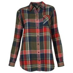 05ff36bcba Natural Reflections Herringbone Plaid Shirt - Forest Night Plaid - XL  Flannel Friday
