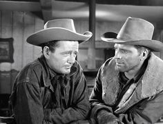 VENGEANCE VALLEY (1951) - Robert Walker and Burt Lancaster - MGM.