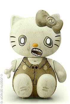 Hello...zombie Kitty?