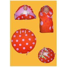 Schlafsack für Puppen, Kreativ-Ebook als Geschenk - farbenmix Online-Shop - Schnittmuster, Anleitungen zum Nähen