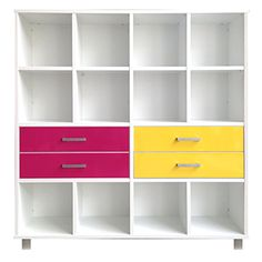16 Cube Snowdrift Outer with Pink and Yellow GLOSS double Drawers <3