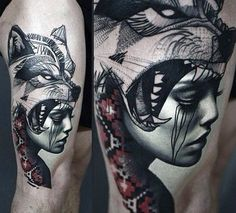 Wolf Tattoo Ideas For Men