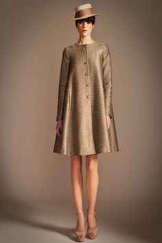 1930s inspired Pre-Fall Collection by Alice Temperley Swing Coats, Coat Dress, Parka, Designer, Fashion Show, Fashion Models, Fashion Design, Fashion Fashion, Womens Fashion