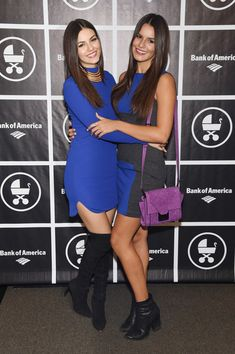 "Actress Victoria Justice @victoriajustice (L) and Madison Reed - ... @ themadisongrace attend as Baby Buggy celebrates 15 years with ""An Evening with Jerry Seinfeld and Amy Schumer"" presented by Bank of America - Arrivals at Beacon Theatre on November 16, 2015 in New York City."