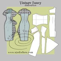 Since the earliest of my pattern making days I have had a passion for the tailored femininity of vintage styling. And now that I havediscovered an extensive online community that enjoys both fashion