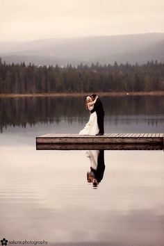 Lake Wedding..beautiful.