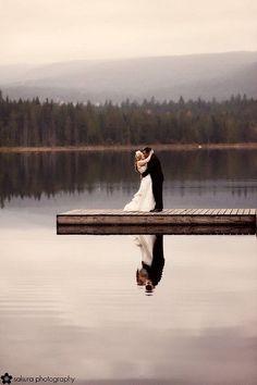 Lake Wedding..beautiful.