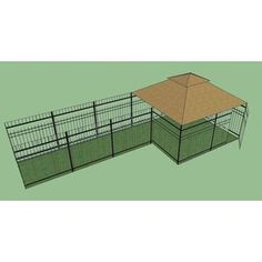 Great OutDogs Windsor Complete and 1 Windsor Sized Dog Kennel Frame Section